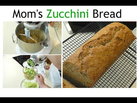 Homemade Zucchini Bread ~ Mom's Zucchini Bread ~ Amy Learns to Cook