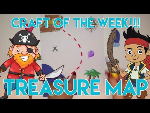 Craft of the Week: Treasure Map