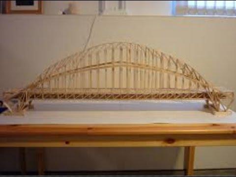 Bridge skills with popsicle sticks