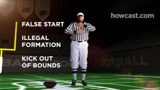 How To Know What The Referee Is Signaling While Watching Football