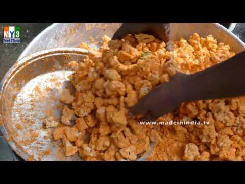 Crispy Cauliflower 65 recipe-Gobi 65 Recipe | SUBBAIAH HOTEL street food