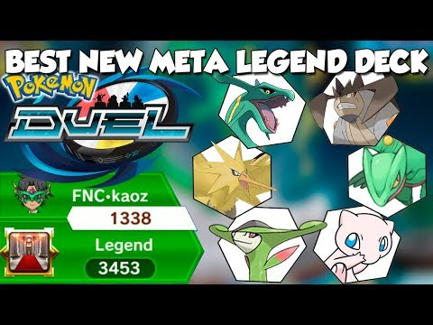 WIN EVERY TIME - BEST DECK IN POKEMON DUEL 3400 RATING