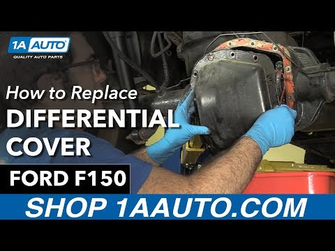 How to Replace Install Differential Cover 97-10 Ford F150