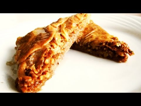 How to make Baklava from scratch: video recipe