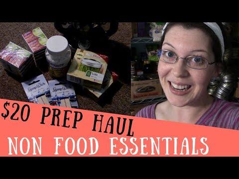$20 Prepper Haul ~Non Food Essentials