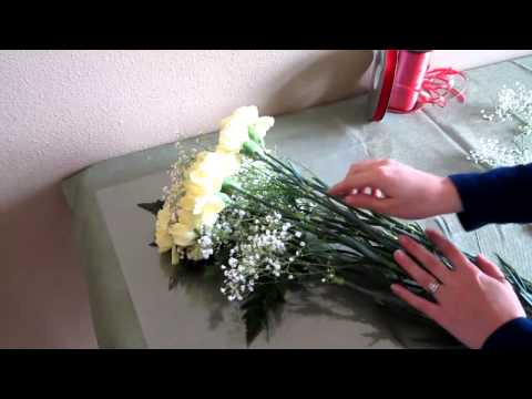 How to Make a Carnation Bouquet