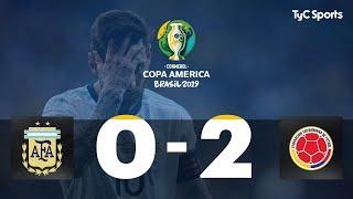 Highlights Argentina vs. Colombia | #CopaAméricaEnTyCSports