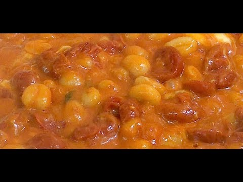 How to make Gnocchi with tomato sauce and Mozzarella Cheese Recipe