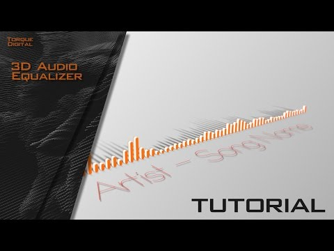 3D Audio Equalizer Tutorial - 100% After Effects