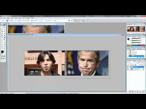 How to combine pictures using Photoshop 7.0**