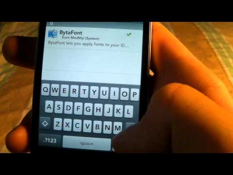 How To Change Font On iPhone, iPod Touch, & iPad With BytaFont