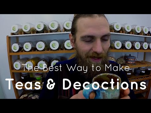 The Best Way to Make Herbal Teas & Decoctions | Yarrow Willard Cl.H. | Harmonic Arts