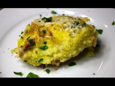 Garlic Mashed Potato Casserole Recipe - Thanksgiving Side Dish
