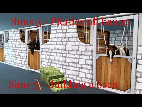 Die Sims 3 - Pferdestall bauen [Speedbuild #2]