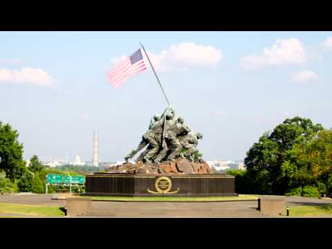 Iwo Jima Memorial Timelapse