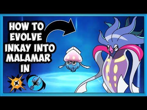 How To Evolve Inkay into Malamar in Pokémon Ultra Sun & Ultra Moon @Poijz