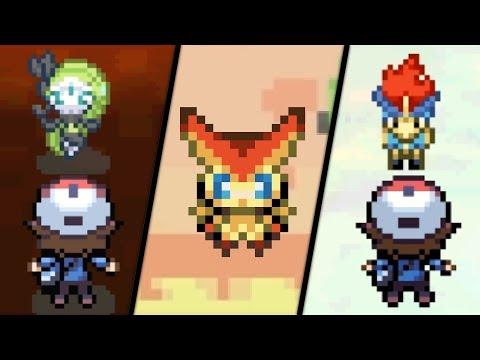 Pokémon Black / White - All Mythical Pokémon Events