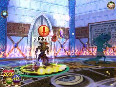 Wizard101:Grizzlheim Walkthrough:Part6 nidevallir helgrind warren Part 1