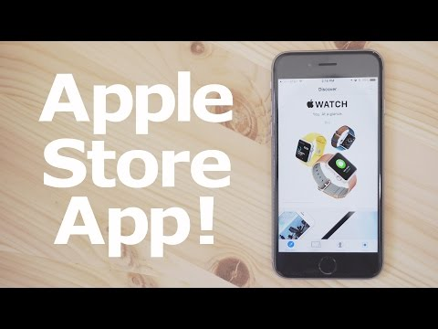 Hands-On with the New Apple Store App!