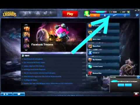 Garena LoL RP and IP hack. Working 15th December 2011!
