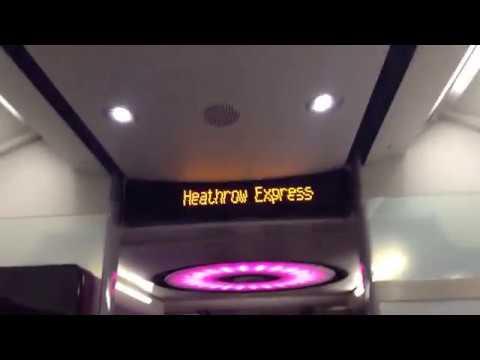 Heathrow Express Terminals 2 & 3 to Terminal 4