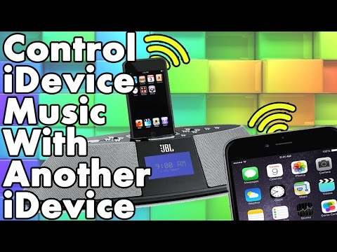 How to control iDevice music with another iPhone iPad or iPod Touch