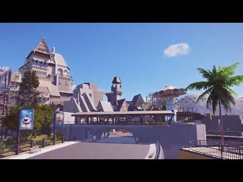 new waterfront - planet coaster - PlanCo CityWalk