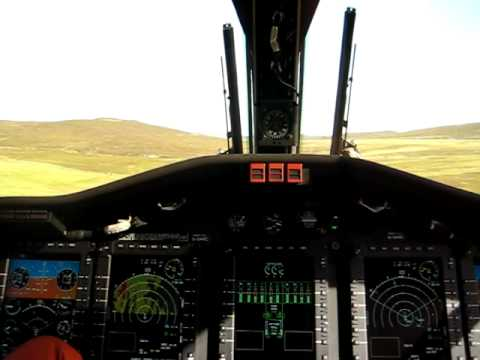 Low Level Flying Over Shetland in Coastguard 102