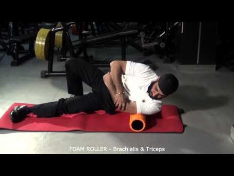 FOAM ROLLER - Brachialis & Triceps