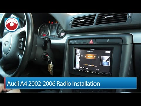 Audi A4/S4 02-06 Radio Installation Pioneer AVIC-Z140BH