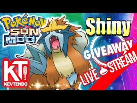 Free Shiny Entei Giveaway !!!  ★ GTS Trade Rattata ★   ▬ Pokemon Sun & Moon ▬