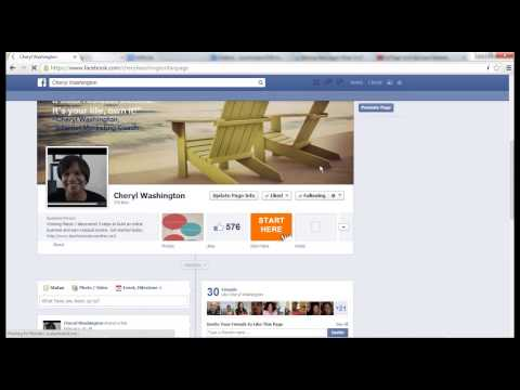Facebook Marketing Tip: Facebook URL shortener Facebook page