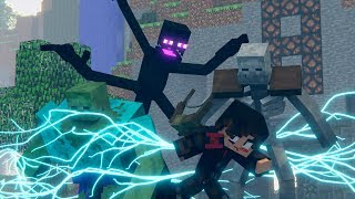 Survival Games Movie: How it All ENDS! (Minecraft Animation)