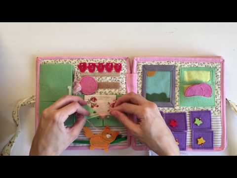 How to make a Doll House - Quiet Book