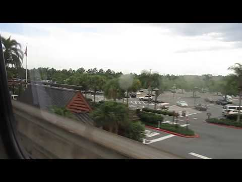 Walt Disney World Monorail - Magic Kingdom to Grand Floridian Resort and Spa