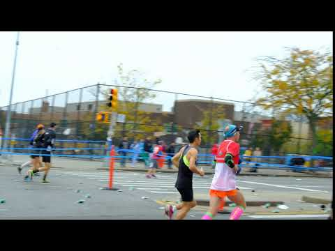 nyc marathon 2017 Brooklyn Bay Ridge highlight