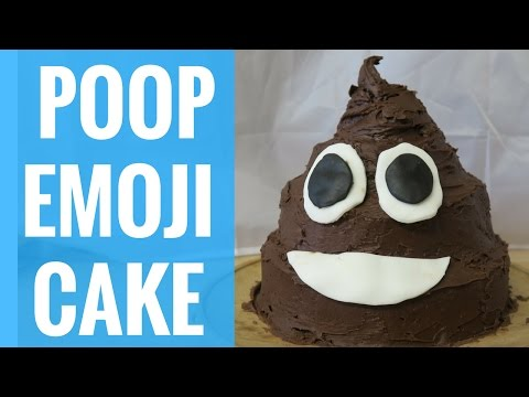 POOP EMOJI CAKE | HOW TO MAKE