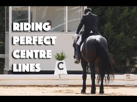 How to ride a perfect straight centre line - Dressage Mastery TV EP19
