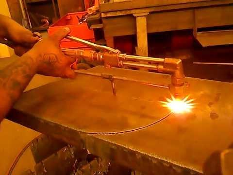 Cutting 2 inch plate