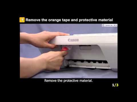 PIXMA MG2920: Setting up the Printer