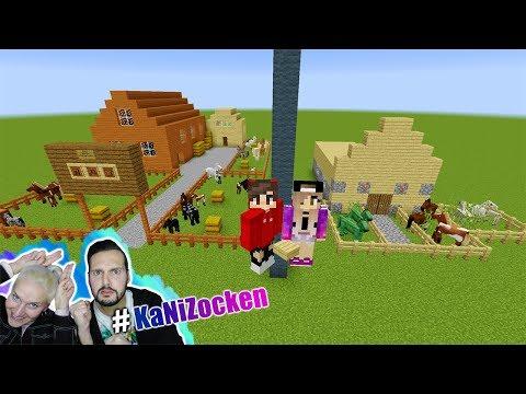 NINAS REITERHOF vs KAAN REITERHOF! Wer hat besser gebaut? Minecraft Build Battle #KaNiZocken