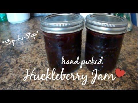 RECIPE | Homemade Huckleberry (or Blueberry) Jam for Christmas Presents!