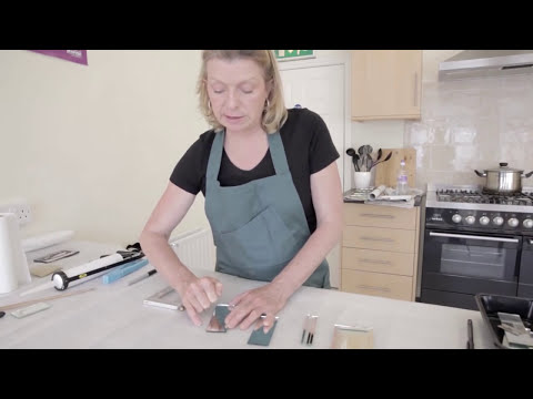 Cutting Thin Strips for Glass Mosaic