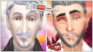 PLASTIC SURGERY ON VLADISLAUS STRAUD | The Sims 4: Townie Makeover