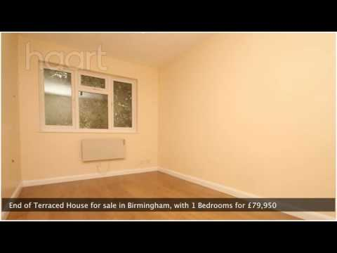 End of Terraced House for sale in Birmingham for £79,950