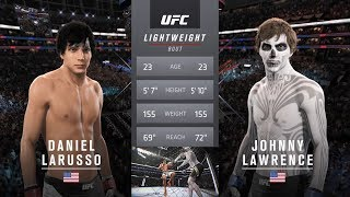 The Karate Kid Vs Johnny (The Bully) Lawrence EA Sports UFC 2