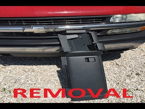 HOW TO REMOVE GLOVE BOX AND LOWER DASH from 1999-2006 Silverado - EASY!