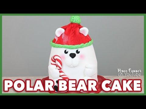 Christmas Polar Bear Cake   Renee Conner