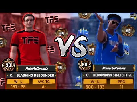 PETERMC VS POWER DF!! SOMEONE GOT EXPOSED BADLY! (Intense MyPark Game) - NBA 2K18 | PeterMc