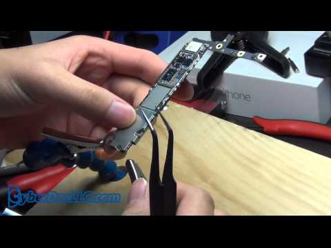 iPhone 6 plus logicboard teardown